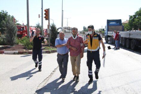 Manisa'da zincirleme trafik kazasında 3 kişi yaralandı
