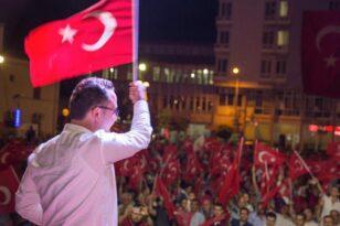 Başkan Palabıyık'ın 15 Temmuz Demokrasi ve Milli Birlik Günü basın açıklaması