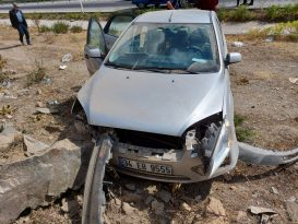 Kula'da Trafik Kazası